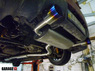 Mitsubishi Evolution X (10) Титановая выпускная система